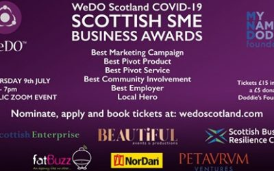 We've been nominated for an award!!